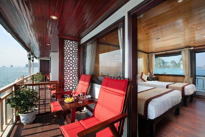 Garden Bay Cruise - Bai Tu Long Bay 2 Days 1 Night (Private Balcony Room)