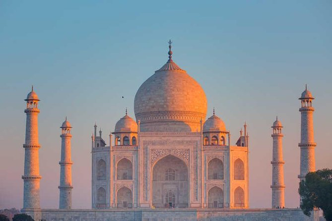 Sunrise at Taj Mahal, & visit to Itimad-ud-Daulah, Agra Fort and Mehtab Bagh