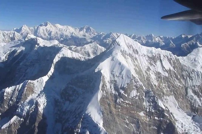 Scenic Mountain Flight in Nepal