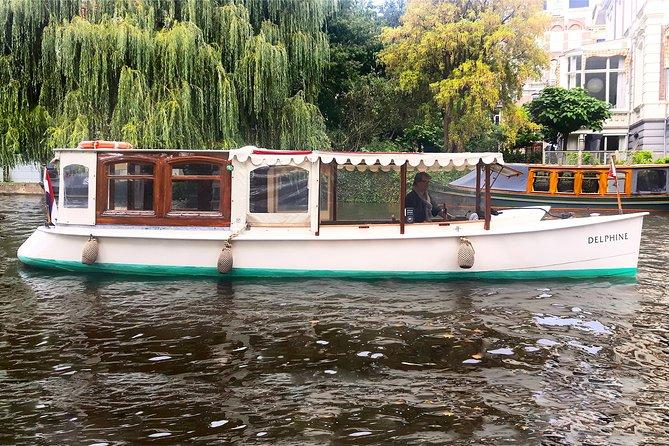 Historic boat tour Amsterdam
