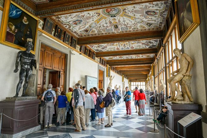 Small Group Tour: Uffizi Gallery + Accademia Gallery and David