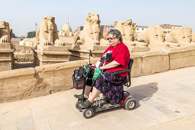 Aswan to Luxor Wheelchair Sonesta Star Goddess Nile Cruise