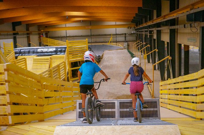 Experience BMX or indoor MTB unpublished in Lyon!