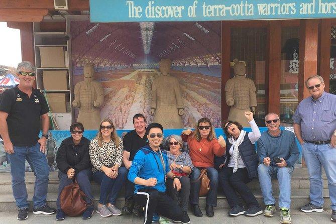 Xian Terracotta Warriors and Big Wild Goose Pagoda Group Tour