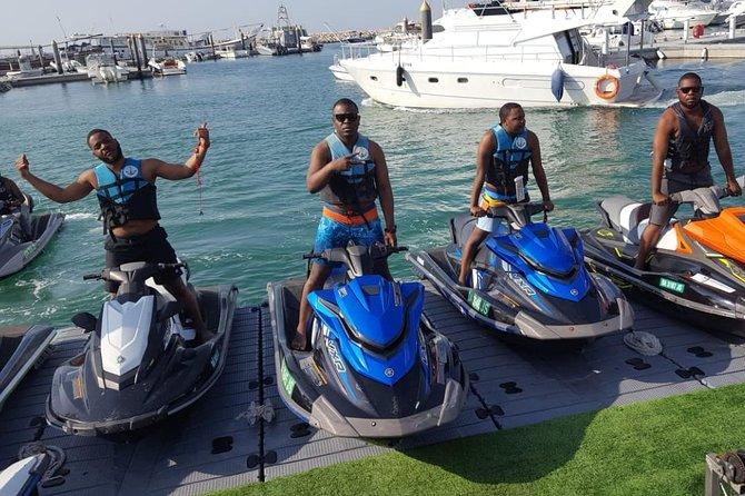 1hr Jet ski burj al arab tour and marina