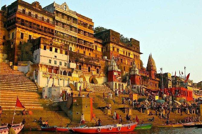 Experience In India Spiritual Varanasi Boat Ride Trip & Sarnath Tour.