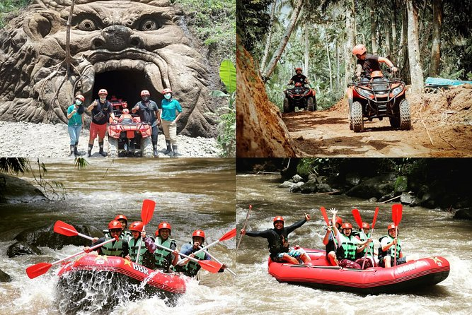 Bali Ayung water rafting And Quad biking adventure