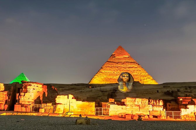 Sound and Light Show at Pyramids
