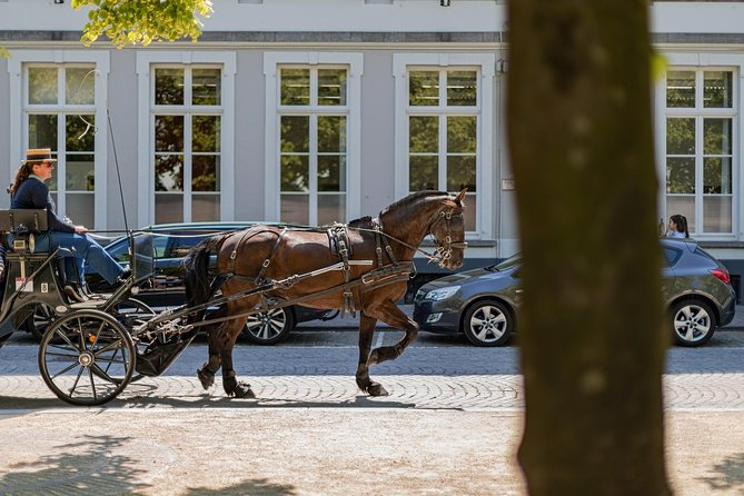 Bruges: romance, paintings and chocolate (private day-trip from Paris)