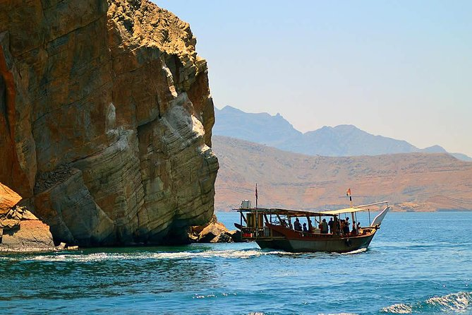 Day with Dolphins (Khasab Full Day Cruise Trip with Transfer from UAE)