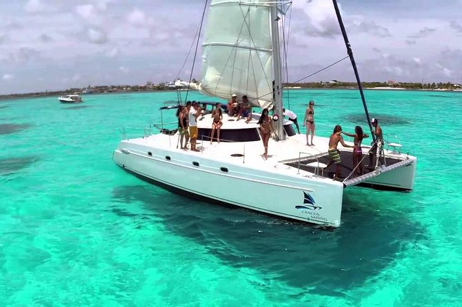 All Inclusive Catamaran Tour to Isla Mujeres, from Cancun to Riviera Maya