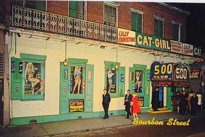 The old 500 Club, Mafia-run burlesque club