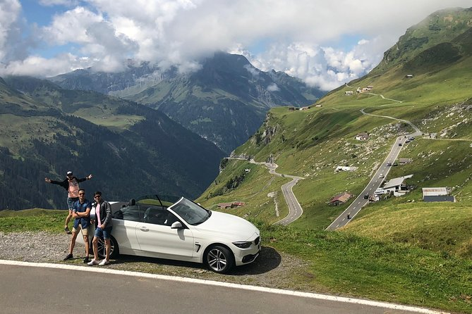 GPS Guided Day Trip to the Alps & Scenic Mountain Roads