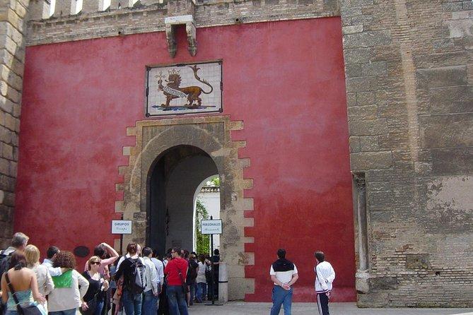 Alcazar of Seville & ticket + guide: IMMEDIATE ENTRY
