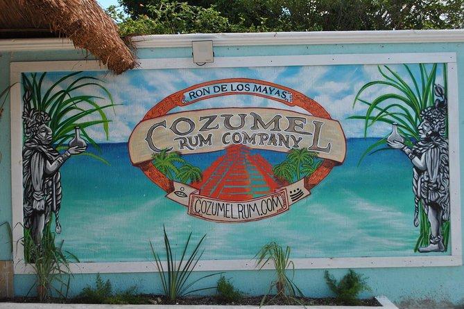 Cozumel Rum Tasting and Merchandise