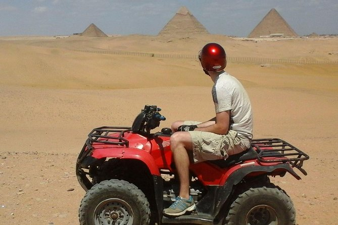1 Hour ATV at Giza Pyramids from Cairo photo 7