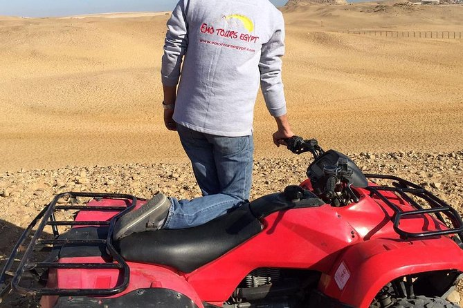 1 Hour ATV at Giza Pyramids from Cairo photo 2