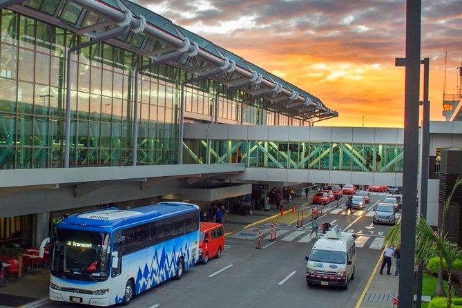 Transportation San Jose Airport (SJO) - Hotel Four Season Guanacaste