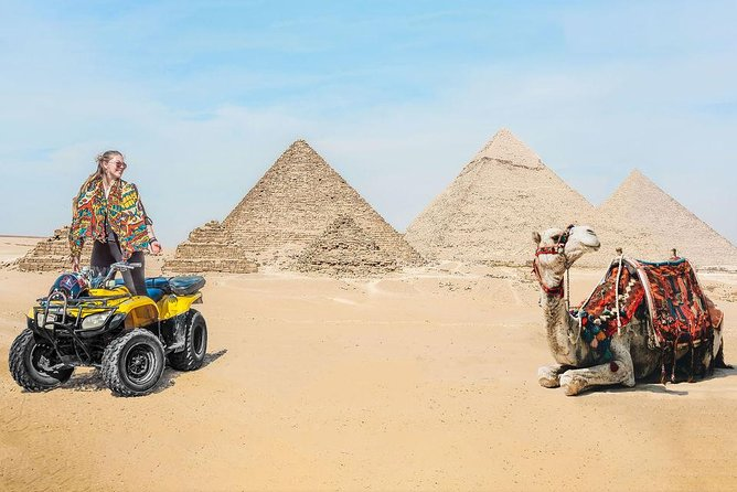 From Sharm El Sheik: Cairo and Luxor 2-Day, 1-Night Tour