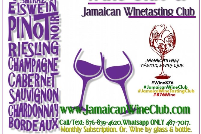 Jamaican Wine Club, Tasting, Events & Private Wine House. photo 5
