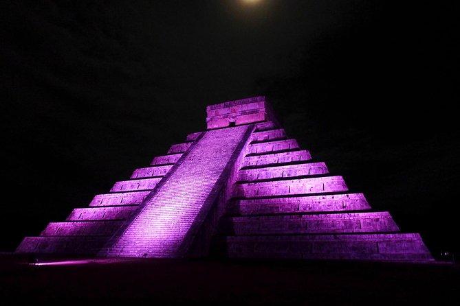 "Tour Chichen Itza Included ""Noches de Kukulkan (Light & Sound)"