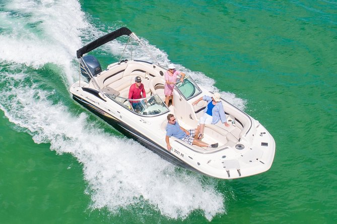 Private Boating On The Hurricane Deck Boat! - Indian Rocks Beach