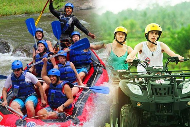 Full Day Ubud Amazing Adventure - Ayung Whitewater Rafting & ATV Single Ride