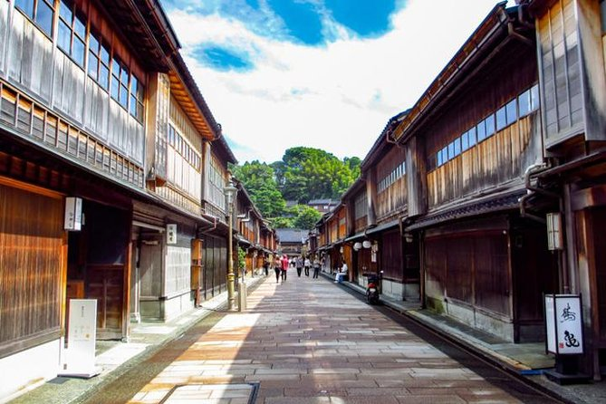 Kanazawa Half-day Private Tour with Government Licensed Guide