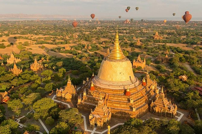 Ancient Cities, Pagodas, and Sunset Tour from Mandalay