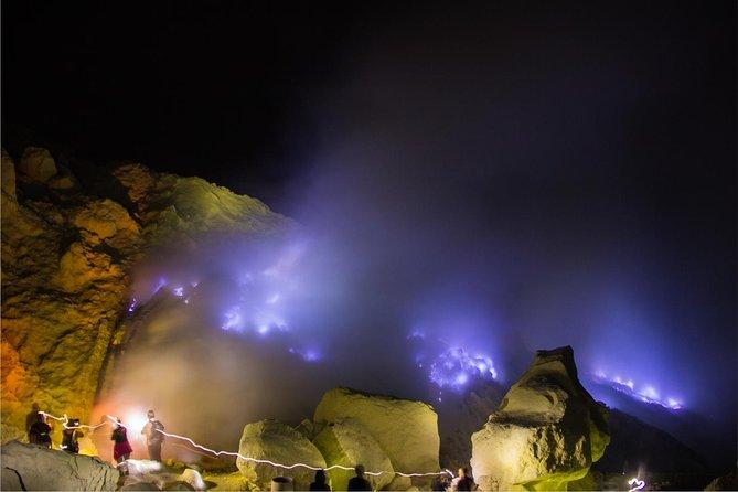 Ijen Blue Flame from Banyuwangi