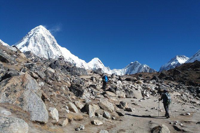 Everest Base camp Trek view from Gorkshep
