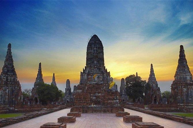 Ayutthaya Sunset Selfie Boat Ride - A World Heritage Evening Trip