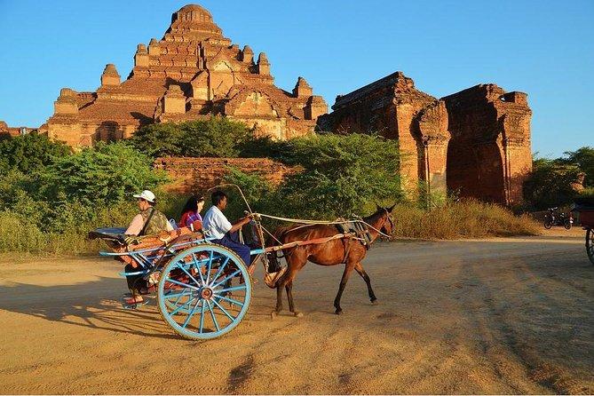 Bagan Fullday Sightseeing by Car and Horse-cart