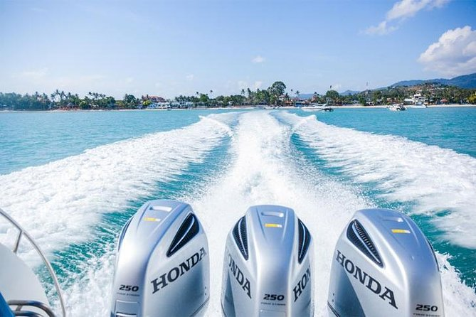 SAMUI: ANGTHONG NATIONAL MARINE PARK by Speed Boat