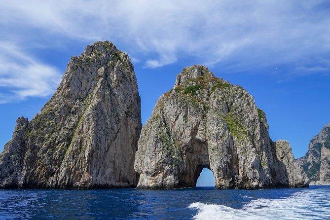 Capri Private Boat Excursion from CastellammareDiStabia