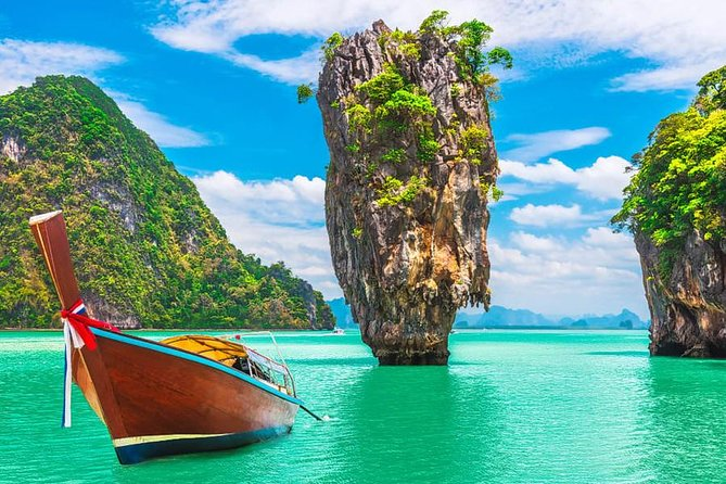James Bond island by long tail boat from Phuket