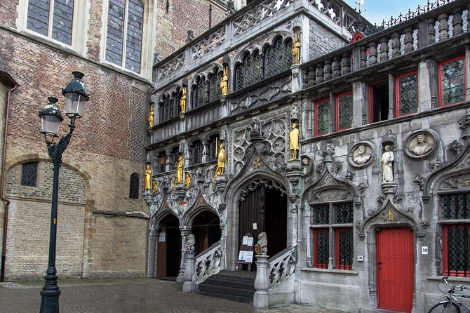 Bruges Guided Day Tour From Paris