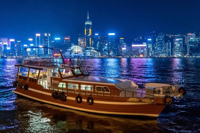 2-Hour Dinner & Shows on Victoria Harbour Night Cruise photo 1