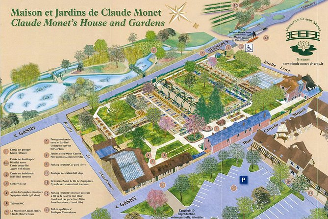 Giverny Tour from Le Havre/Honfleur (Monet's House and Garden)