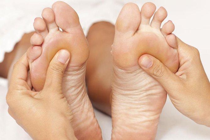 Foot and Neck , Shoulder Massage 45 mins