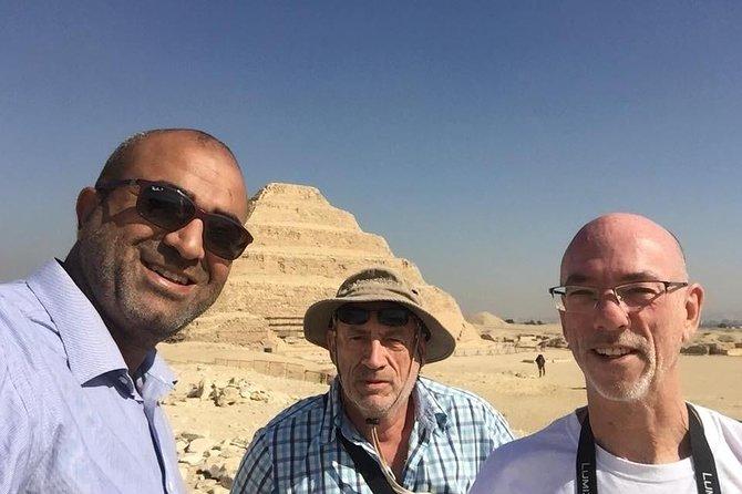 Giza Pyramids adventure.