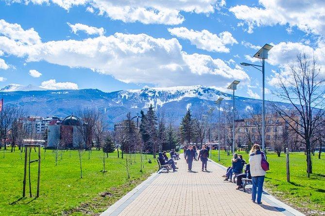 Walking Tour in Sofia's parks