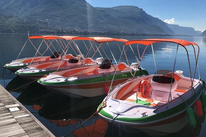 3 hours Boat Rental Lake Como