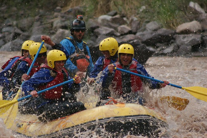 Full Day Cacheuta Hot Springs + Intermediate Rafting