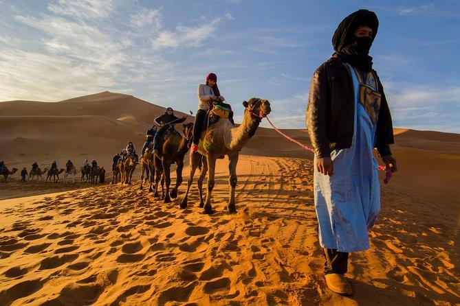 4 Days From MARRAKECH To CHEFCHAOUEN Via MERZOUGA Desert