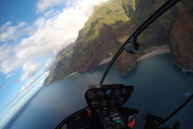 Private Kauai Helicopter Tour with No Middle Seats