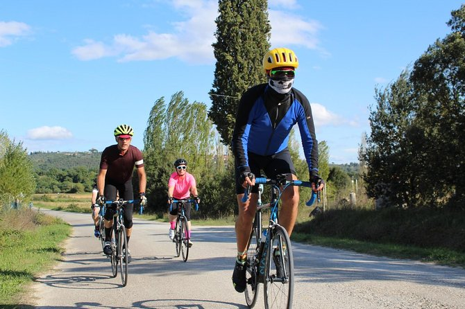 bike ride val d'Orcia