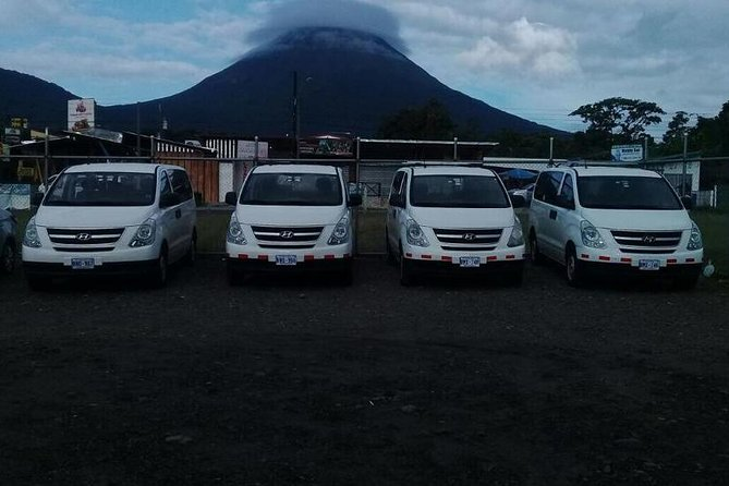 Transportation SJO Airport to Arenal (La Fortuna)