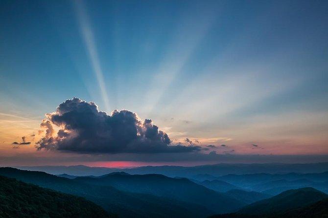 Sunset over a Blue Ridge Vista