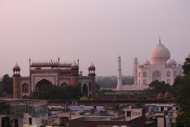 Sunrise Tajmahal Tour From Delhi By Car With Breakfast at 5* Hotel All Inclusive